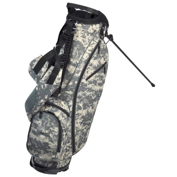 These great looking mens OS 8.6+ golf stand bags by Orlimar offer enough space to fit all your golf accessories