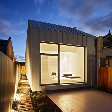 House by studio architecture gestalten architecture and for Architecture zinc