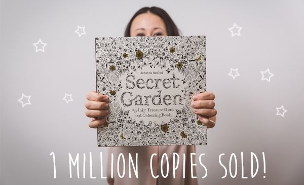 Over One Million People Bought Her Gorgeous Coloring Book