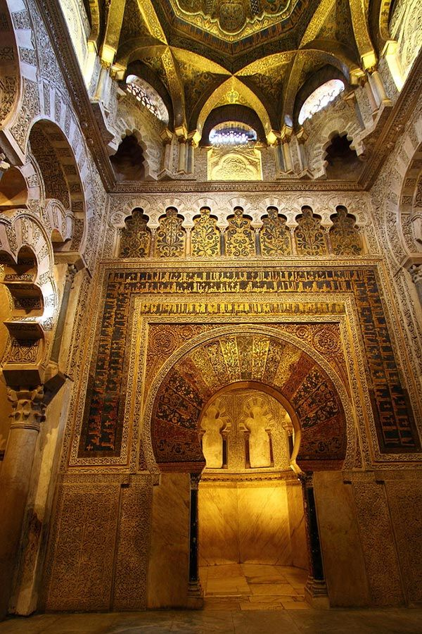 The Great Masjid of Cordoba - #mostbeautifulpictures