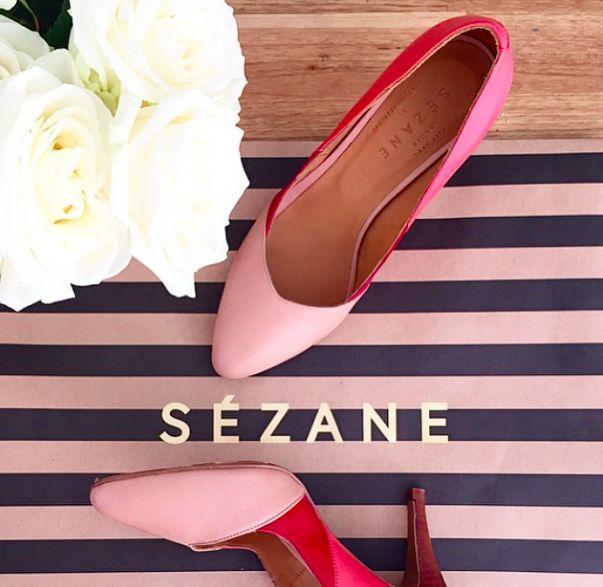 Sézane / Morgane Sézalory - courts - @sezane_paris instagram.com/... #sezane www.sezane.com #courts