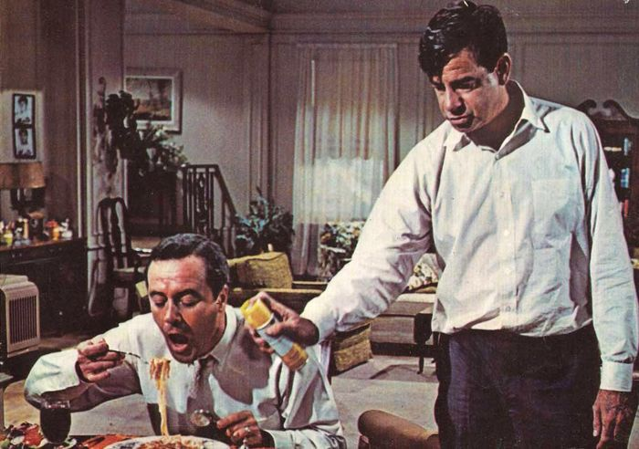 Jack Lemmon ; Walter Matthau - the odd couple