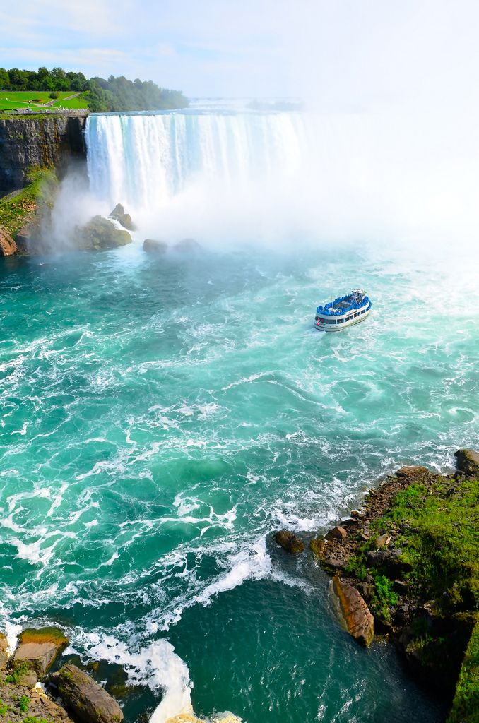 Maid of the Mist - Niagra Falls, Ontario, Canada