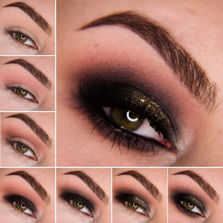Matowa paletka od Freedom (http://www.perfumesco.pl/freedom-pro-eyeshadow-palette-(w)-paleta-12-cieni-do-powiek-audacious-mattes-12g) i odrobina brokatu.