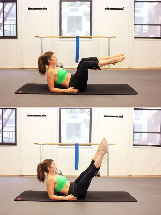 The 10 Best Pilates Moves for Flat Abs   Lower backs, Back ...