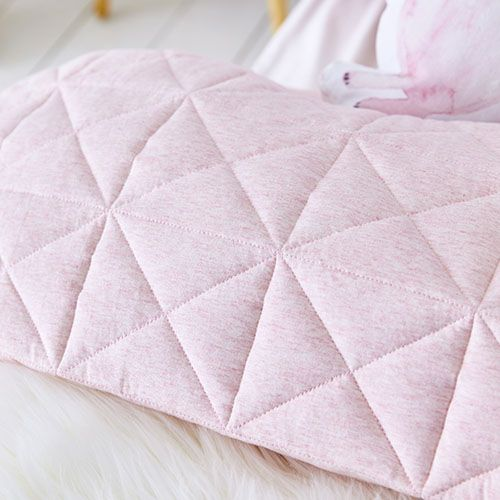 Harvie Jersey Quilt Cover Set Pink