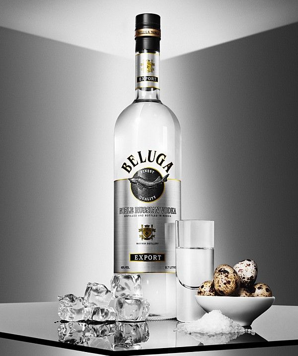 Beluga Vodka photographed by Michael Hedge for Esquire Magazine