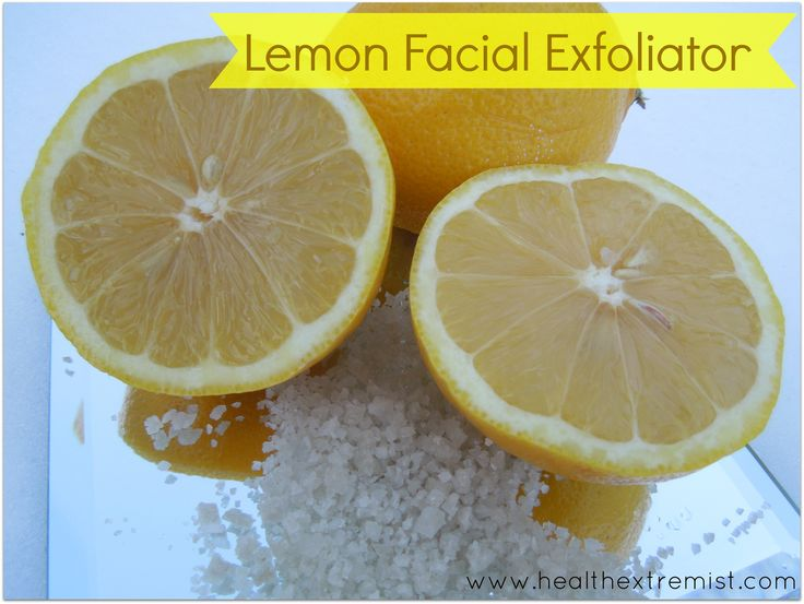 Make Your Own Natural Exfoliator