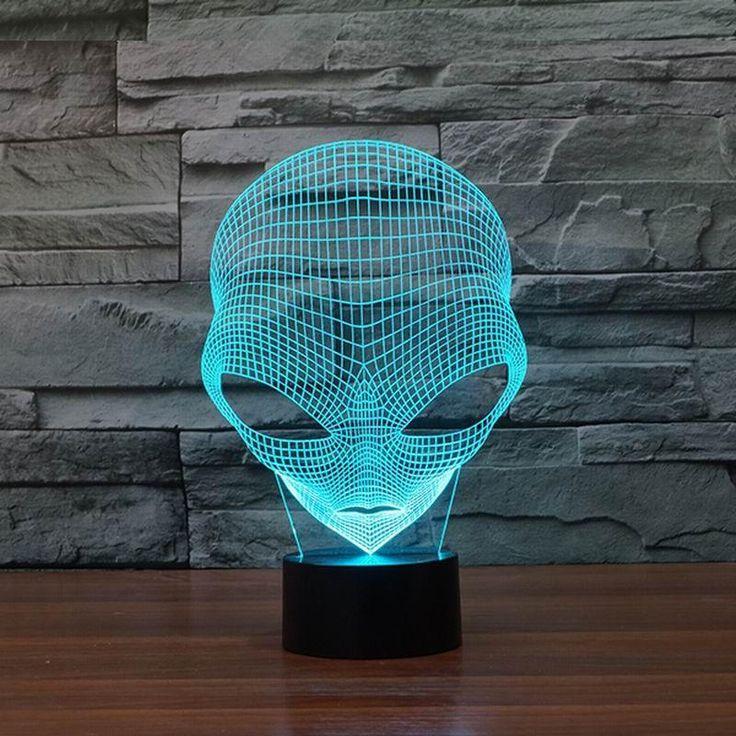 Alien Shape Lamp
