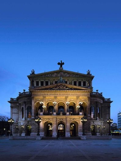 Alte Oper, Frankfurt am Main, Germany © Alte Oper Frankfurt