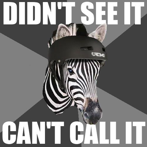Image result for zebra referees GiFs