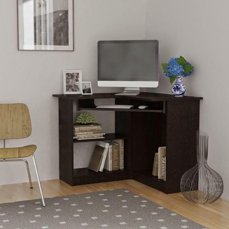 Best 25 small corner desk ideas on pinterest window desk desk nook and large corner desk - Small oak corner computer desk ...