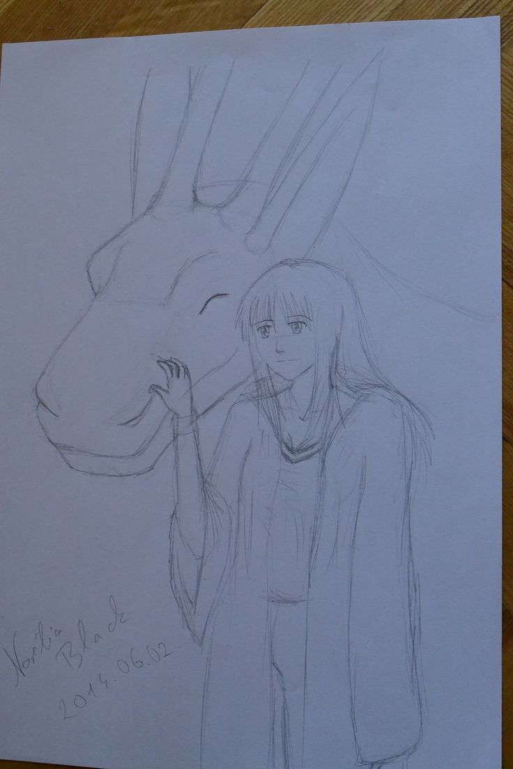 My novell character Nori & BlackD