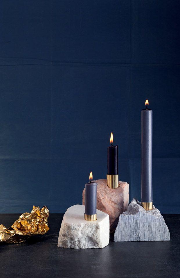 Anleitung: Kerzenständer aus Speckstein selber machen - BRIGITTE