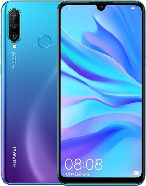 Huawei P30 Lite 128gb Dual Sim Peacock Blue In 2020 Huawei Dual Sim Smartphone