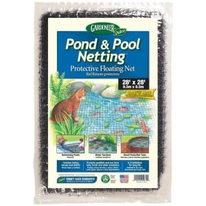 Dalen Products Pool and Pond netting 3/8 in. Polypropylene Mesh (28 ft. x 28 ft.)-PN-28 at The Home Depot