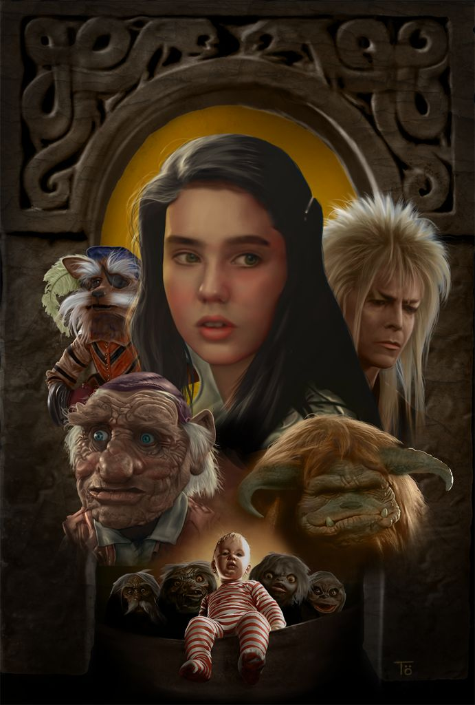 610 best images about Labyrinth on Pinterest | David bowie ... Labyrinth 1986 Poster