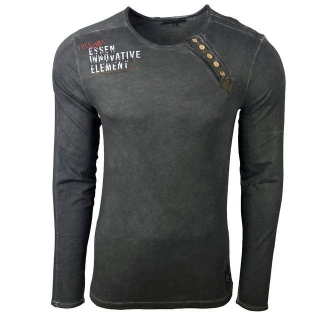 Longshirt »A1 RN10120« in 2020 | Pullover shirt, Shirts und