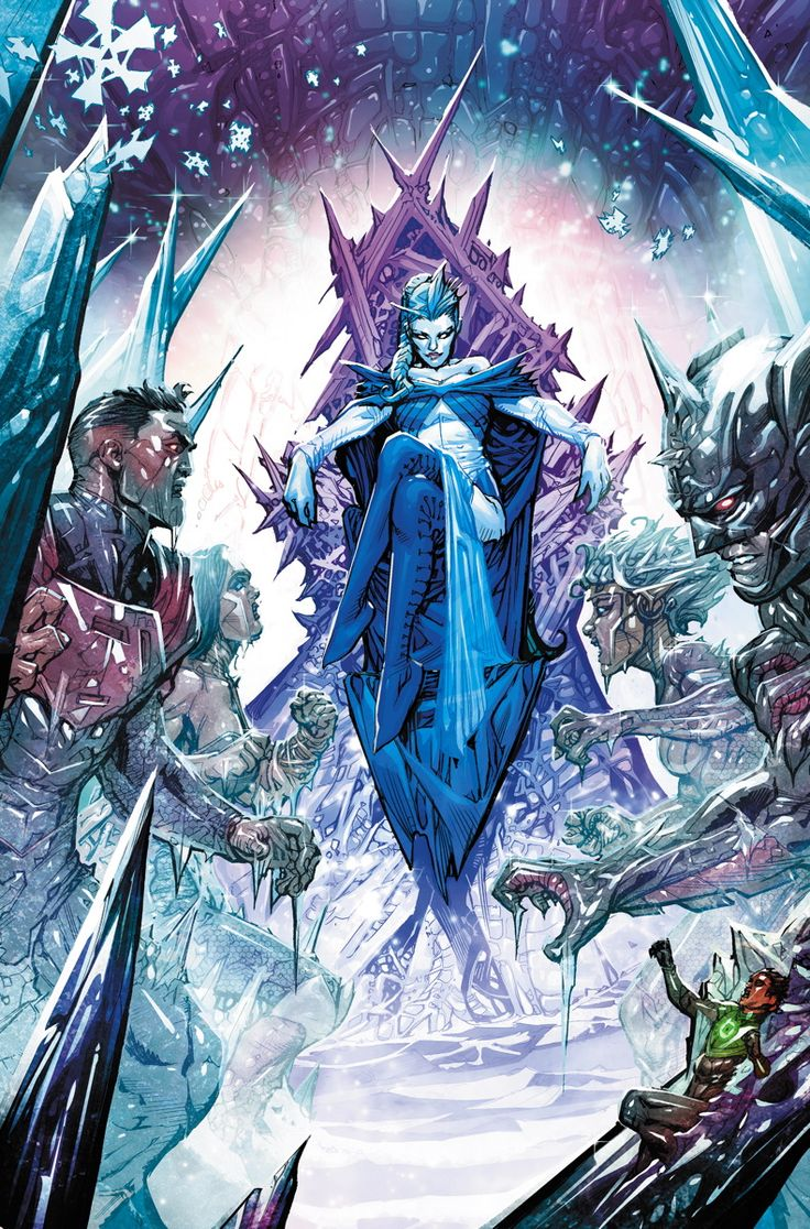 JUSTICE LEAGUE 3000 #13 Written by KEITH GIFFEN and J.M. DeMATTEIS Art and cover by HOWARD PORTER On sale JANUARY 7 • 32 pg, FC, $2.99 US • RATED T Winter's coming to the future, and with it comes the frost queen herself: Ice! But is she the same hero the Justice League once knew? Maybe reuniting with old friends will warm her soul…or perhaps she just needs to create a little Fire!