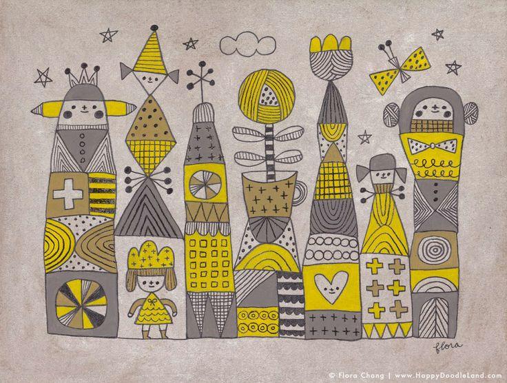 Flora Chang | Happy Doodle Land