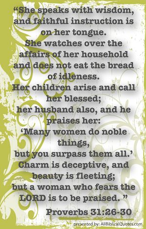 what a women of GOD is!!!!