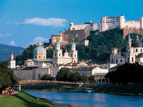 La Fortaleza Hohensalzburg: Viendo a Salzburgo desde arriba (Austria)