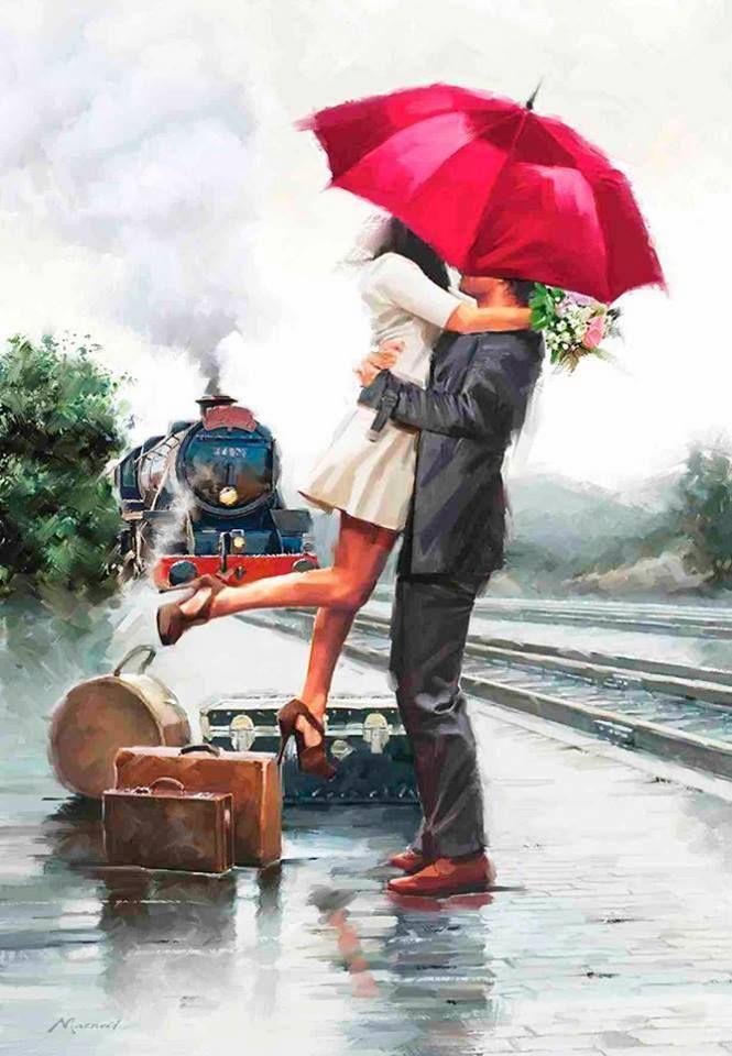 Картинки, картинки свидание влюбленных прикольные