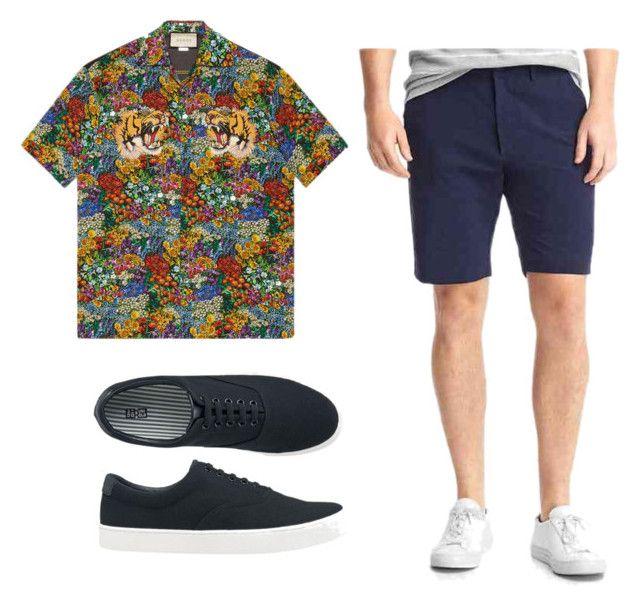 Fun Daily by kiky77 on Polyvore featuring Gucci, Gap, Uniqlo, men's fashion and menswear