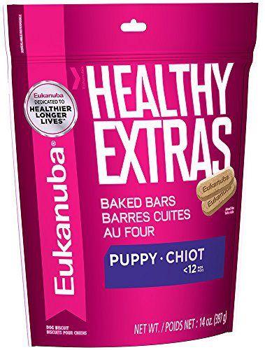 EUKANUBA HEALTHY EXTRAS Puppy Growth Treats for Puppies 14 Ounces - http://www.thepuppy.org/eukanuba-healthy-extras-puppy-growth-treats-for-puppies-14-ounces/