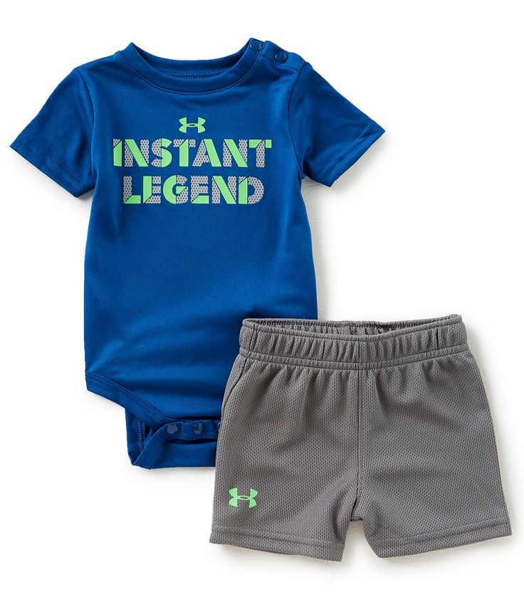 Shop for Under Armour Baby Boys Newborn-12 Months Short-Sleeve Instant Legend Bodysuit & Shorts Set at Dillards.com. Visit Dillards.com to find clothing, accessories, shoes, cosmetics & more. The Style of Your Life.