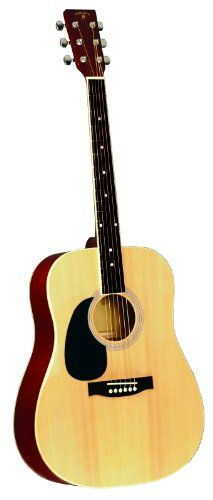 INDIANA Scout Deluxe S-SCOUT-NL Left Handed Acoustic Guitar – Natural