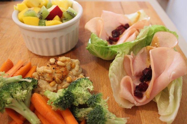 Idée lunch paléo : Wrap laitue-dinde-canneberges