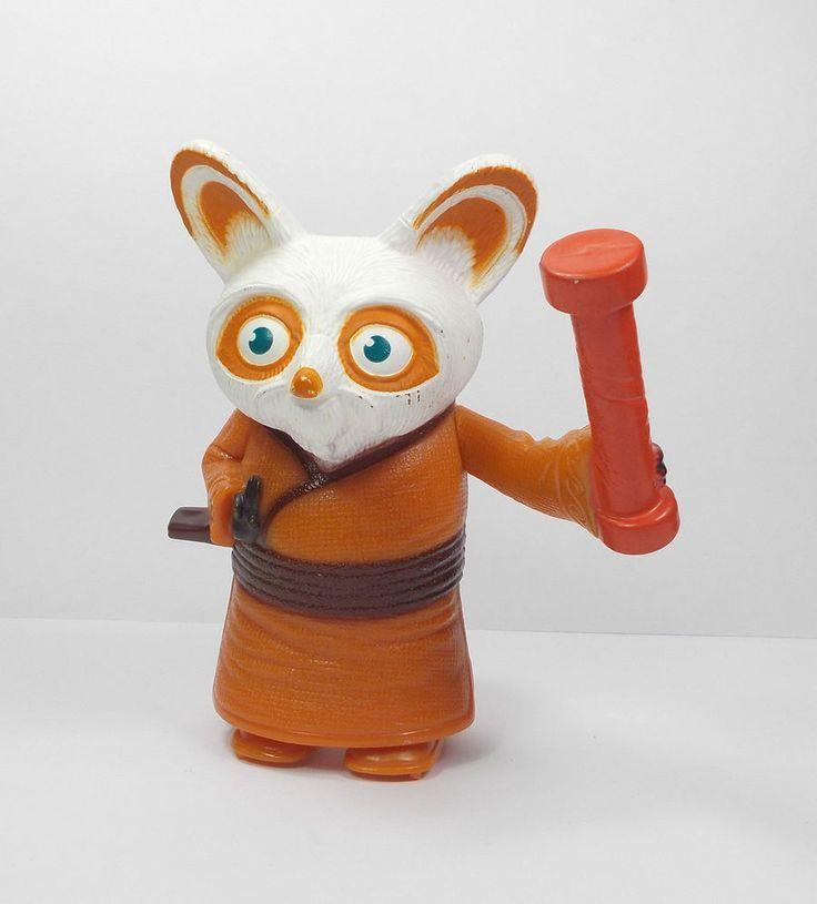 Kung Fu Panda - Master Shifu Toy Figure - Cake Toppers (1) Dreamworks
