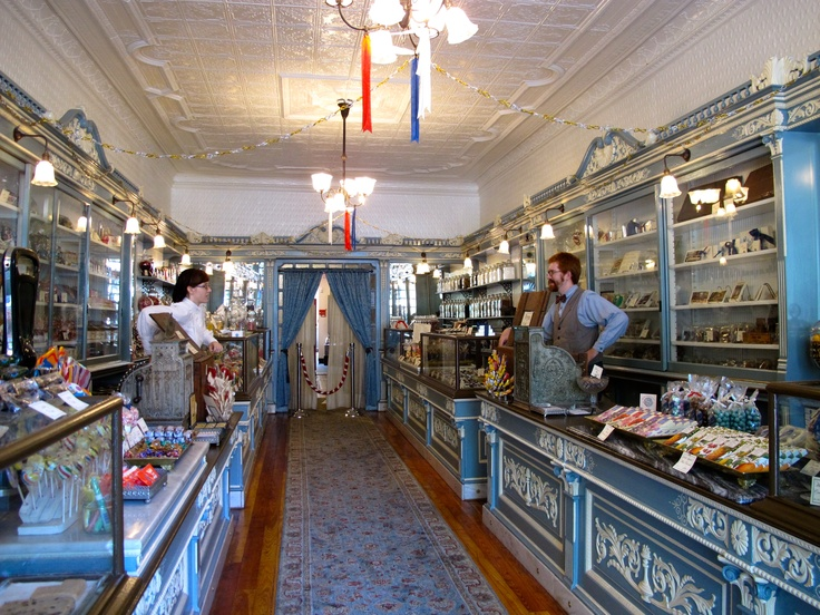 Pretend you are a kid again. Visit Shane Confectionary in Philadelphia-considered to be the oldest candy store in America! Stepping into the shop with its creaking wooden floors  marble counter-tops is like taking a step back in time.