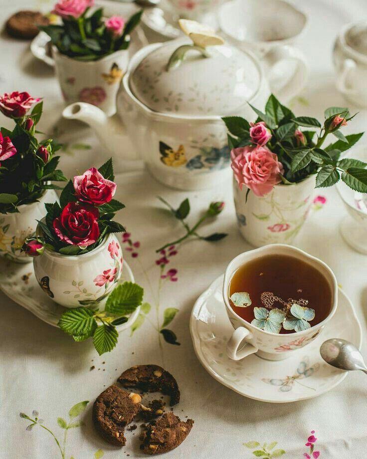 Картинки утренний чай или кофе, началом