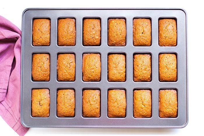 cinnamon zucchini bread miniloaves recipe � dishmaps