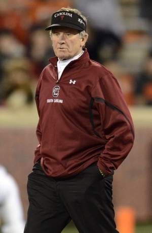 At 67, South Carolina coach (2005 to present) Steve Spurrier proving he still has that old spark