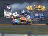 Kyle Busch crashes