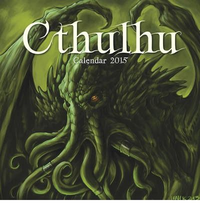 The Cthulhu calendar is packed with weird and wonderful depictions of Lovecraft's monster who lurks beneath the deep.