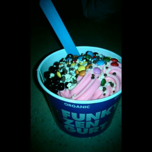Funky Frozen Yogurt