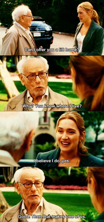 Let's Go To The Movies (the holiday,eli wallach,kate winslet)