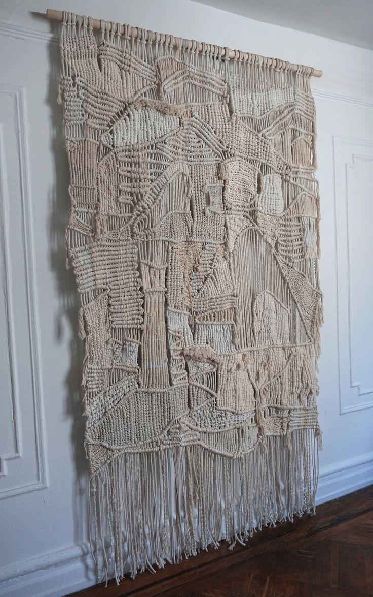 best 25 weaving wall hanging ideas on pinterest woven. Black Bedroom Furniture Sets. Home Design Ideas