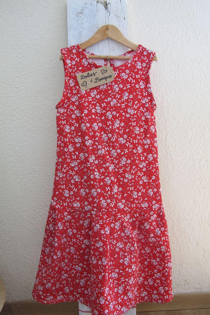 Vestido para niña de 9 años / Vestit per a nena de 9 anys.