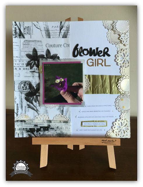 Couture Creations: Flower Girl by Tracey Rohweder
