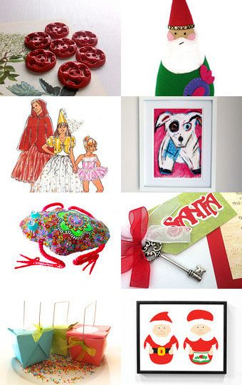 for you - festive collection by Sue @PinkNeonVintage on Etsy