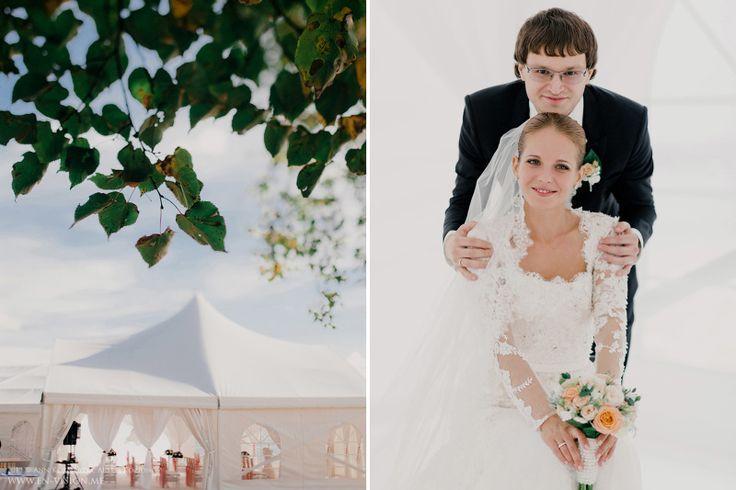 Свадьба в шатре на берегу Камы. Александр и Наталья - Свадебные фотографы Анна Козионова и Артем Козионов