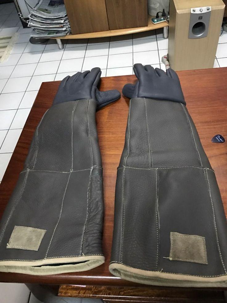 Tienda Online Picadura Anti guantes 60 cm guantes largos de alta calidad de seguridad para atrapar animales como perros, gatos, reptiles, serpiente Mascotas de alimentación entrenamiento guantes | Aliexpress móvil
