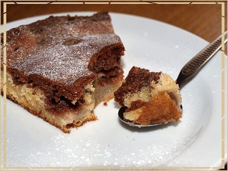 Hruškový koláč z Francie