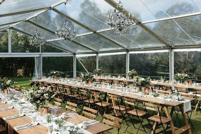 Clear marquee wedding | The Bride's Tree blog