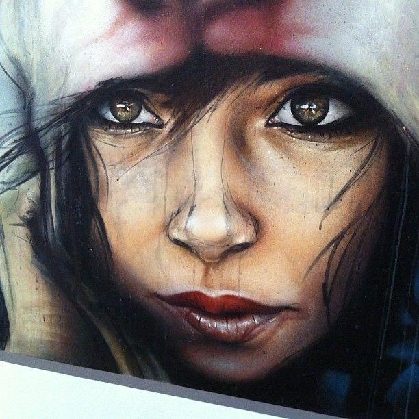 Herakut  street art   _eyes #graffiti